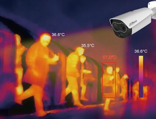 Intelbras adota câmeras térmicas em suas operações para prevenção contra coronavírus